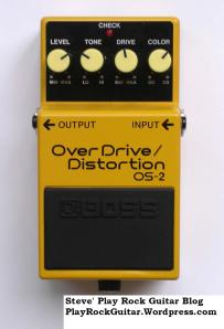 Guitar Distortion Overdrive Pedal